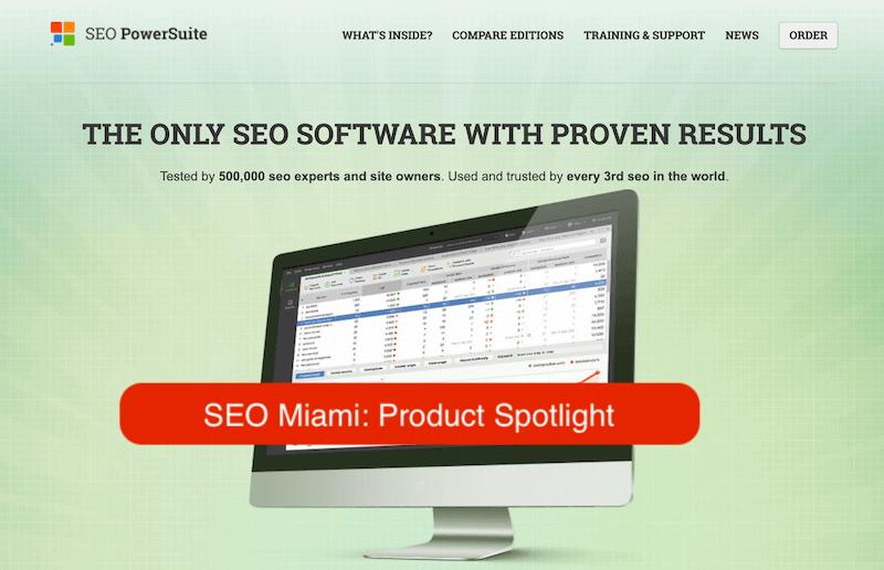 SEO PowerSuite Tools